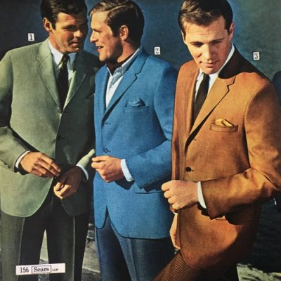 1960s Men's Suits, Sport Coats History