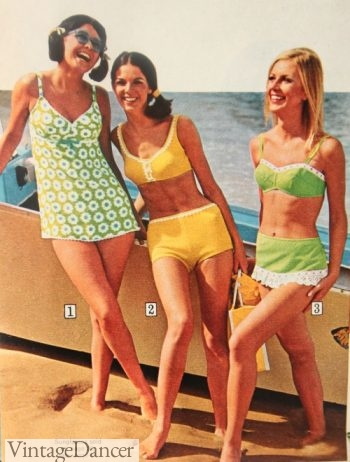 1968 mod swimsuits