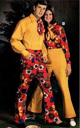 1969 Flower Power hippie clothes