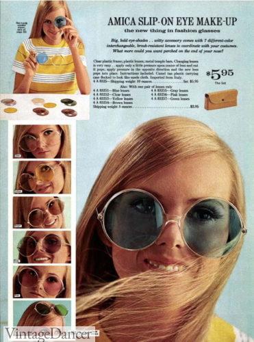 1969 Sears sunglasses 500