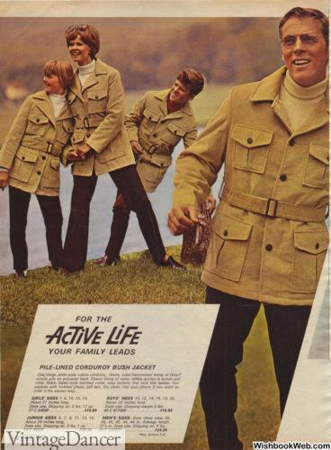 1969 mens bush jackets