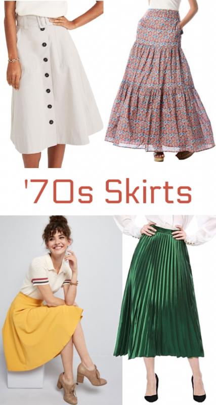 1970s skirts 70s skirt hippie skirts boho skirts peasant skirts retro skirts at vintagedancer