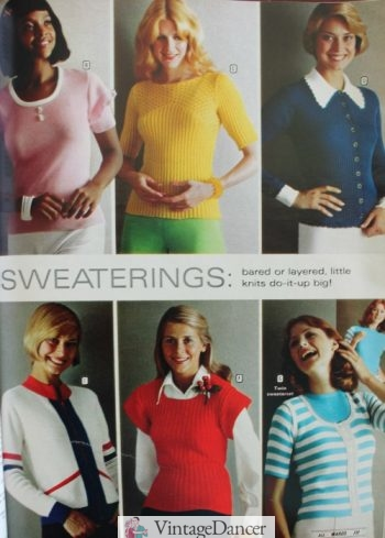 Sweater and knit tops