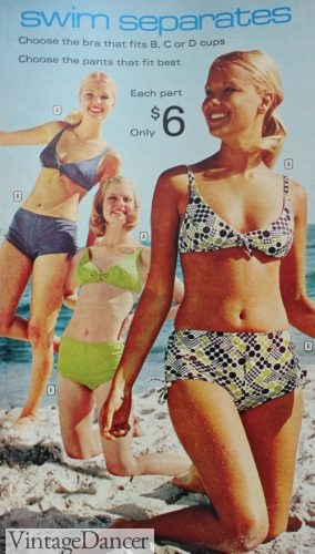 1973 bikini swimsuits