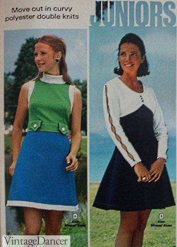 1973 teen mod dresses mini dresses