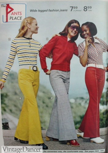 1973 colored jeans