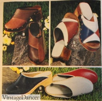 1973 clogs shoes
