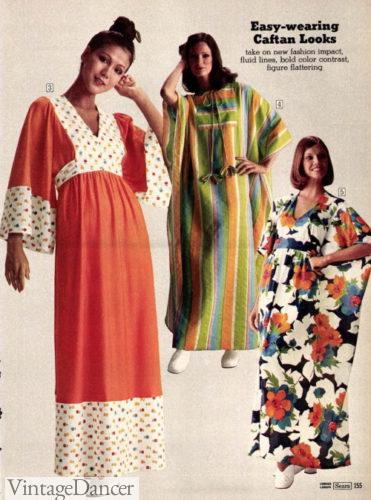 1974 caftan dresses