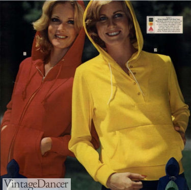 1976 windbreaker jackets women 70s exercise clothes
