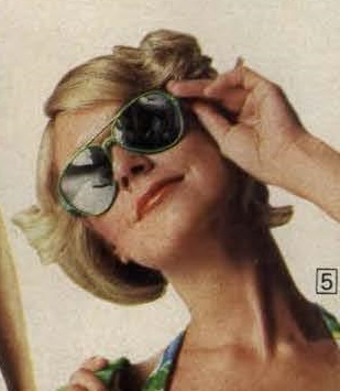 1976 green sunglasses women