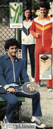 70s workout clothes 1977 tracksuits