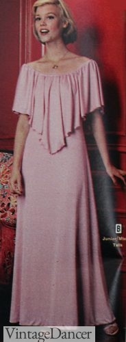 1978 pink grecian gown