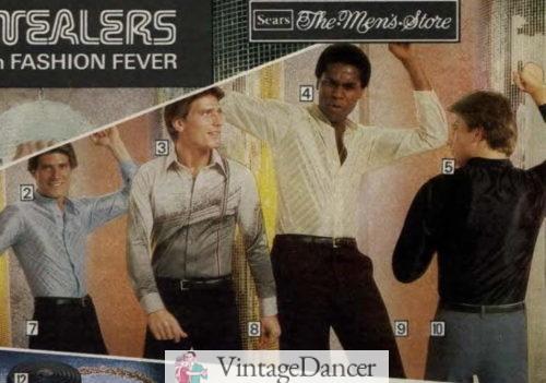 1979 disco shirts- flashy!