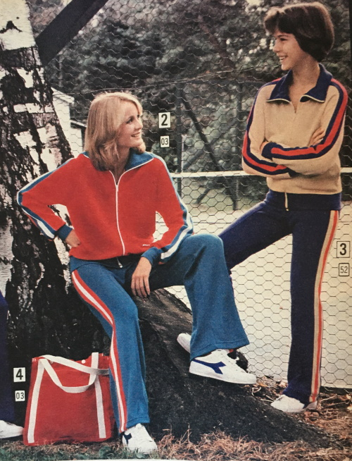 70s exercise tracksuits women kids boys