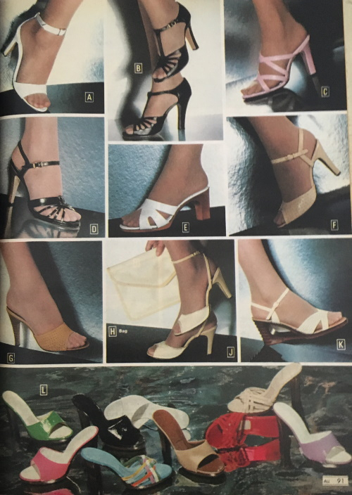 High heel disco shoes dancing shoes women 1970s
