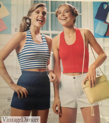 Yacht Rock outfit - 1979 short and tops