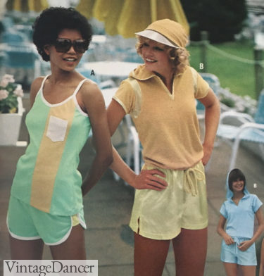 70s workout clothes 1979 summer workout womens outfits gym sports
