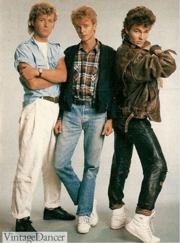 1980s mens fashion guys clothing at VintageDancer