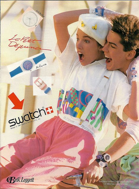 1980s swatch watches