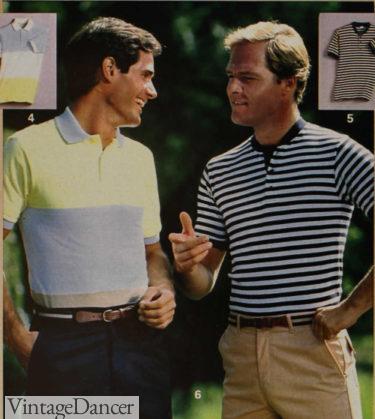 1984 polo shirts at VintageDancer