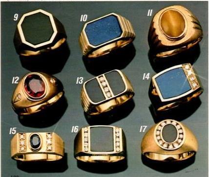 1986 men's rings