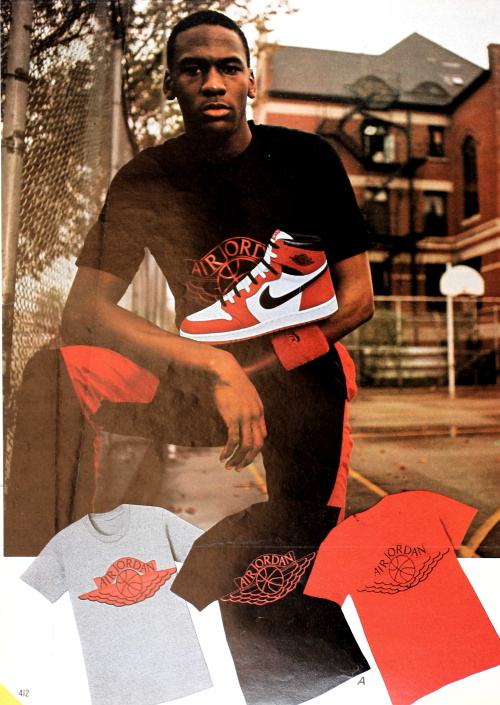 1987 Air Jordan's were the collest new shoe to start in the 1980s and dominated the 90s
