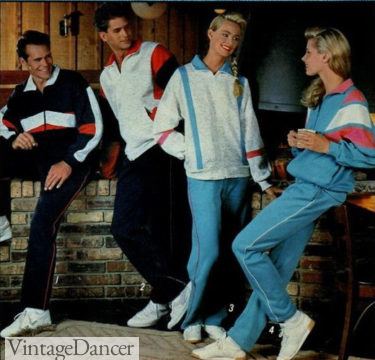 1988 tracksuits workout clothes