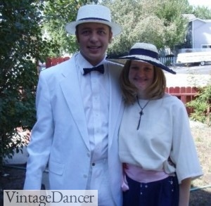 One Hour Dress cover costume Great Gatsby Festival Lake Tahoe
