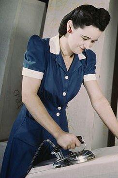 1940's Women's Fashion dress