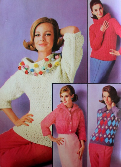 Large Collar Sweaters