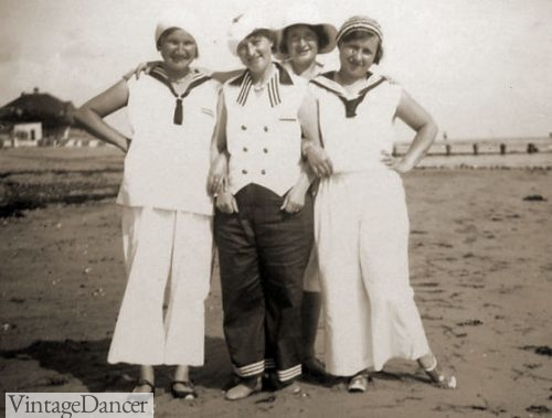 Vintage Summer Clothes, Beach Outfits