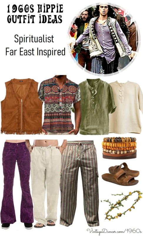 1960s Men's Outfit Inspiration | Clothing Ideas Far East Far Out  AT vintagedancer.com