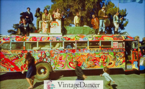 The Merry Pranksters are credited as being the founders of hippie identity and culture