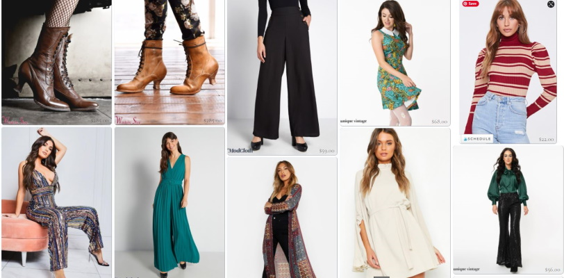 Click or tap to shop 1970 style clothing.