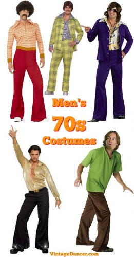 Men's disco clothing, 70s mens Halloween costumes