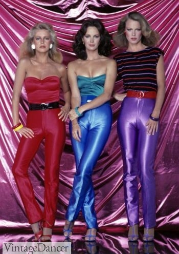 70s spandex jumpsuits, disco fashion