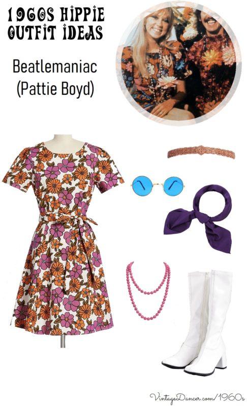 1960s Women's Outfit Inspiration Pattie Boy  AT vintagedancer.com