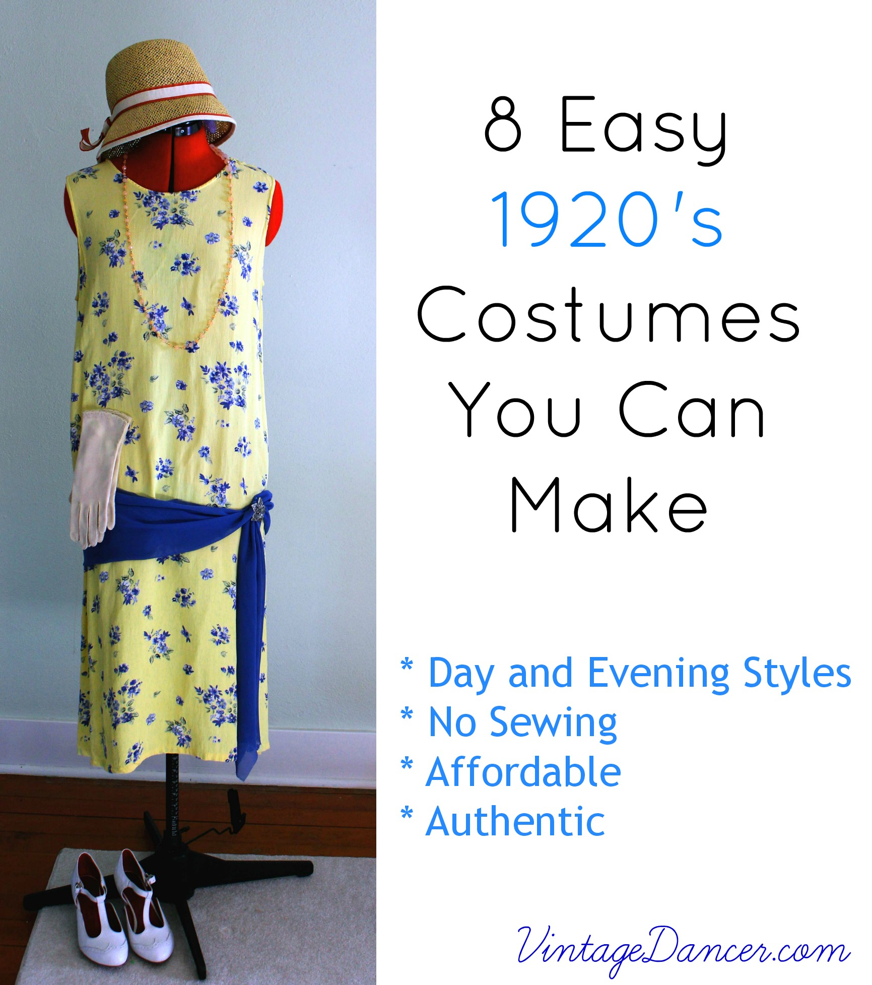 10 Easy 1920s Outfits for Women