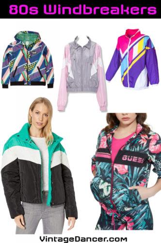 Shop 80s windbreaker jackets, denim jackets, long coats