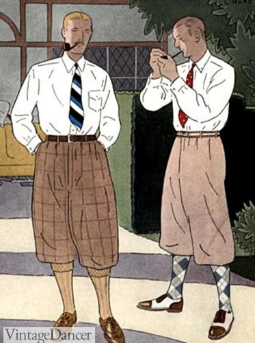 1922 plus four knicker outfits
