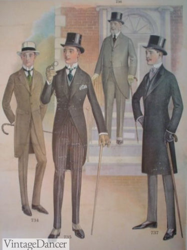1916 morning suits