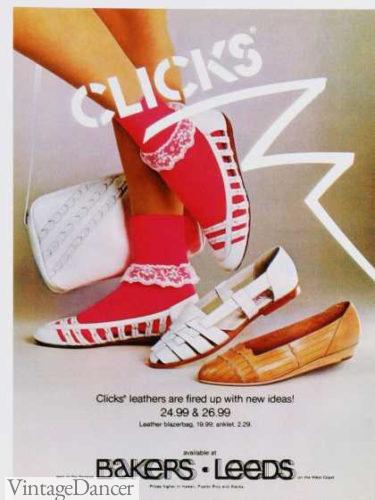 Clicks 80s shoes