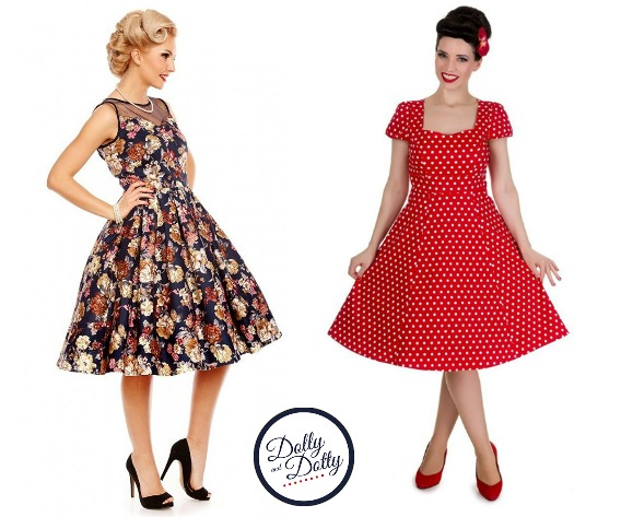 Dolly & Dotty Fun 50s dresses