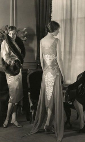Edward Steichen, Vogue, evening dress and coat