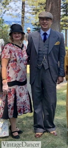 Peaky Blinders Couples Outfits - 1920sLake Tahoe Great Gatsby FEstival