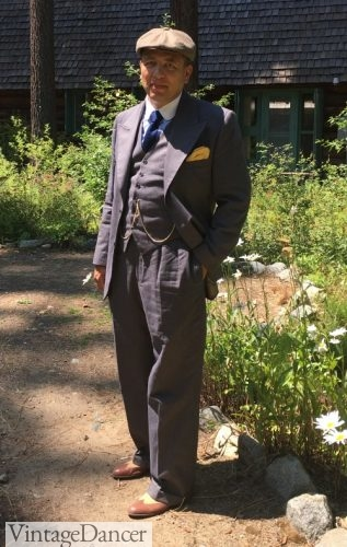 1920s Gangster Peaky Blinders outfit