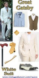 Great Gatsby White Suit- Get the Leonardo DiCaprio Look