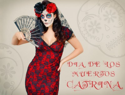 Vintage Day of the Dead Costume