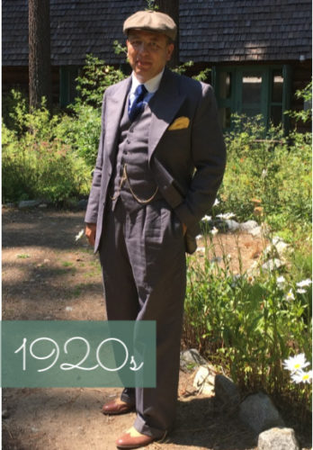 1920s mens fashion clothing costumes outfits at VintageDancer