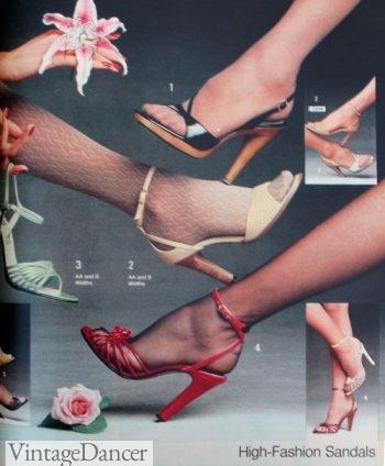 1978 disco sandals